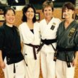 group of female martial artists